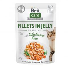 Brit Care Cat Fillets in Jelly Wholesome Tuna 85 g