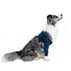 MPS Pooperačný návlek na 2 predné nohy psa L