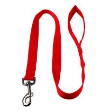 Nylonové vodítko pre psa - červené, 100 cm, šírka 15 mm