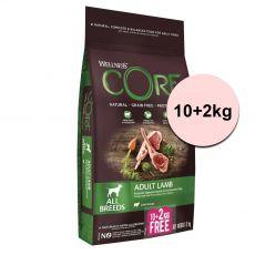 Wellness CORE Adult Lamb 10+2 kg
