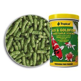 TROPICAL Koi goldfish Vegetable sticks 21L