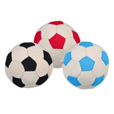 Lopta pre psov - futbalová, 11 cm