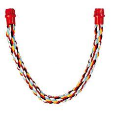 Bidlo pre vtáky - bavlnené lano, 66 cm