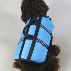 Vesta pre psov - záchranná modrá, XXS