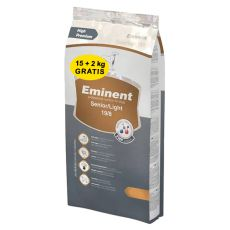 EMINENT Senior Light 15 + 2 kg GRATIS