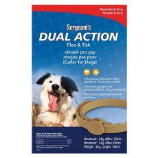 Antiparazitný obojok pre stredné psy Sergeant´s - 60cm