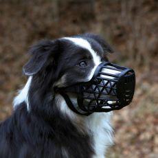 Náhubok pre psa, plastový - veľkosť L, 26 cm