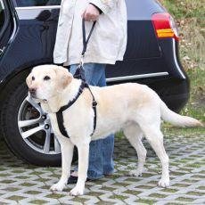 Bezpečnostné vodidlo pre psa do auta - čierne, 27 cm