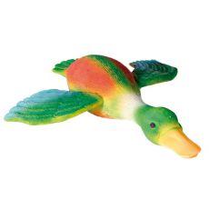 Hračka pre psy - farebná kačica, 30cm
