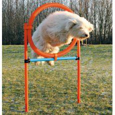 Agility prekážka pre psov, kruh 115x65cm