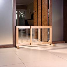 Bariéra pre psy, posuvná 63-108x50x31cm