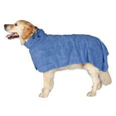 Župan pre psov - modrý, 60cm