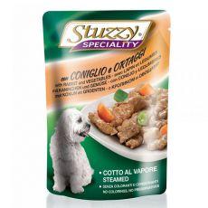 Stuzzy Speciality Dog - králik so zeleninou, 100 g