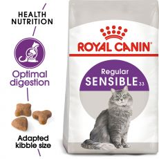 ROYAL CANIN Sensible granule pre mačky s citlivým trávením 400 g