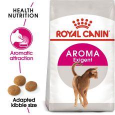 Royal Canin Aromatic Exigent granule pre maškrtné mačky 400 g