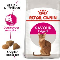 Royal Canin Savour Exigent granule pre maškrtné mačky 2 kg