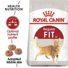 Royal Canin Fit granule pre správnu kondíciu mačiek 400 g