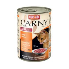 Krmivo CARNY ADULT hovädzie + kuracie mäso - 400 g