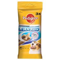 Tyčinky pre psov Pedigree Denta Stix small - 3 ks / 45g