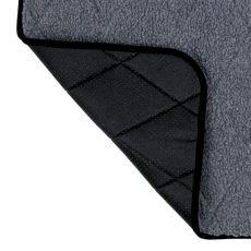 Termo podložka pre psa, sivá - 80x60cm