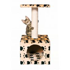 Škrabadlo s pelechom pre mačky Zamora - 31x31cm
