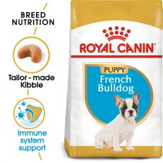 ROYAL CANIN French Bulldog Puppy granule pre šteňa francúzskeho buldočka 3 kg
