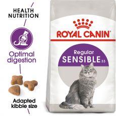 ROYAL CANIN Sensible granule pre mačky s citlivým trávením 2kg