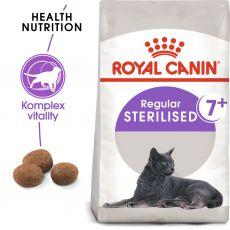 ROYAL CANIN Sterilised 7+ granule pre starnúce kastrované mačky 1,5 kg