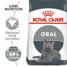 ROYAL CANIN Oral Care granule pre mačky znižujúce tvorbu zubného kameňa 1,5 kg