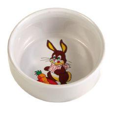 Keramická miska pre zajace 300 ml / 11 cm