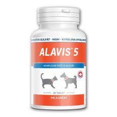 ALAVIS 5 Kĺbový prípravok pre psy a mačky - 90 tbl