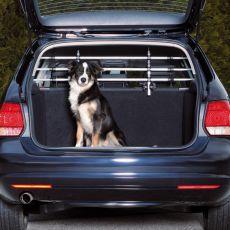 Mriežka do auta pre bezpečnú prepravu psa