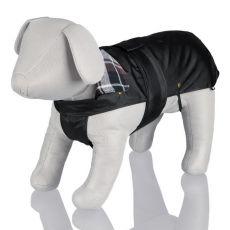 Kabát pre psa s flanelovým golierom - S / 42-55cm