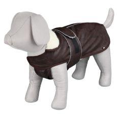 Kabát pre psa s golierom a reflexnými prvkami M / 50-70cm