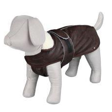 Kabát pre psa s golierom L / 55-75cm