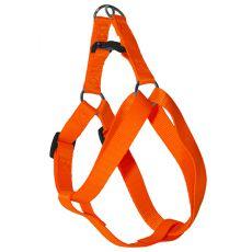 Postroj pre psa neon oranžový, 1 x 25-34cm