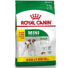 ROYAL CANIN Mini adult granule pre dospelé malé psy 8 kg + 1 kg