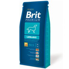 Brit Premium Lamb and Rice 15kg