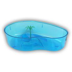 Terárium pre korytnačky s palmou - modré