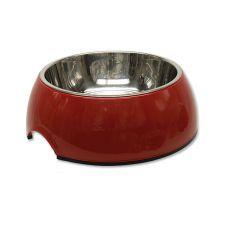Miska pre psa DOG FANTASY,  0,70L - červená