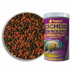 TROPICAL Cichlid Omnivore Medium Pellet 500ml/180g