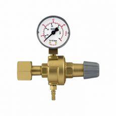 """Redukčný ventil CO2 s 1 manometrom - závit W21,8x1/14"""""""
