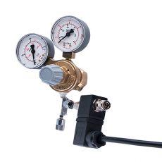 "Redukčný ventil CO2 - W21,8x1/14""+ihlový+emg.ventil (2x man)"