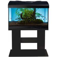 Akvárium komplet DIVERSA 54l - oválne + stolík BUDGET čierny