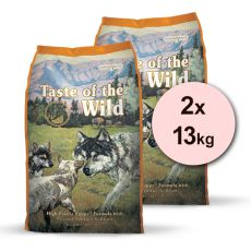 TASTE OF THE WILD High Prairie Puppy 2 x 13 kg