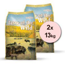 TASTE OF THE WILD High Prairie Canine 2 x 13 kg