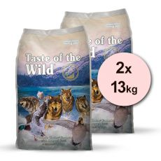 TASTE OF THE WILD Wetlands Canine 2 x 13 kg