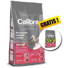 CALIBRA Premium Junior Large 12 kg + 3 kg