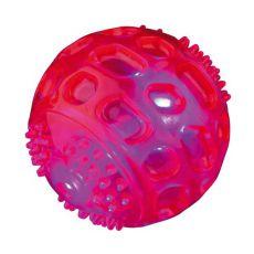 Hračka pre psa - blikajúca lopta, 5,5 cm