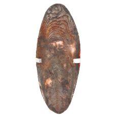 Sépiová kosť s držiakom pre vtáky - čokoládová príchuť, 12 cm